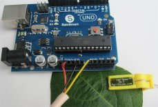 Leaf Sensor and Ardunio